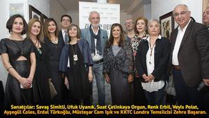 Yedi Türk sanatçıdan Londrada ortak sergi