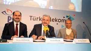 Ulaştırma Bakanı Arslan: (PTTCELLin abone sayısı) Bu sene sonunda en az 1 milyona çıkarmayı hedefliyoruz