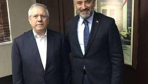 Ordu Büyükşehir Belediye Başkanı Yılmaz, Fenerbahçe Başkanı Yıldırımla görüştü