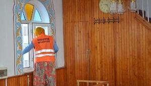 Ramazan öncesi cami ve mescitlerde temizlik yapıldı