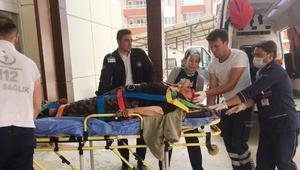 Yenişarbademlide kaza: 2 yaralı