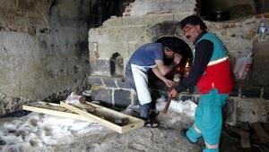 Tabyadaki fırında 130 yıl sonra ekmek pişirdiler