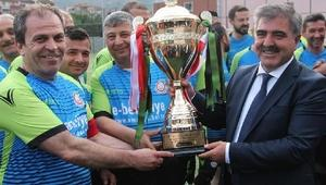 Amasya Belediyesi turnuvanın şampiyonu oldu