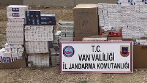 Başkalede 18 bin 500 paket kaçak sigara ele geçirildi