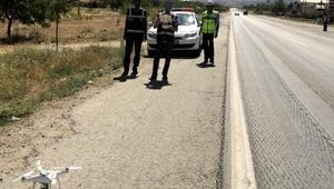 Drone belirledi, polis 206şar lira ceza kesti