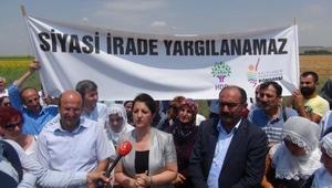 HDPli Buldan: Adalet Yürüyüşünün gideceği nokta Edirne Cezaevidir