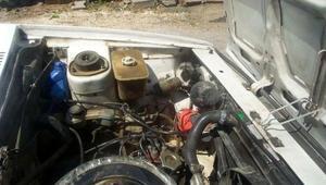 Otomobilin motor bölümünden kedi çıktı