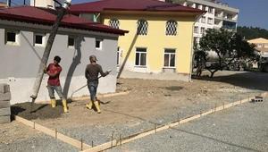 Abacıbükü Camii'nin çehresi değişiyor