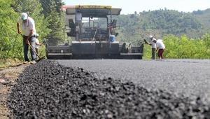Giresun'da doğalgaz tamamlandı, asfalt başladı