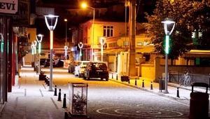 Bayburt'ta caddeler göz kamaştırıyor