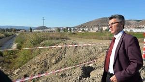 Kanal ıslahının ardından köprü inşası başlıyor