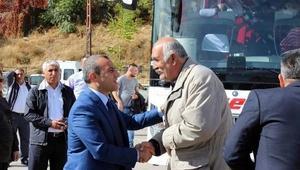 Tuncelide 65 şehit ailesi ve gazi, Trabzon ve Rizeye uğurlandı