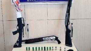 Elazığ ve Diyarbakırda silah kaçakçılığı operasyonu: 8 gözaltı