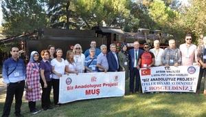 Muşlu öğrenciler Çamlık Tren Müzesini gezdi