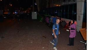 Karabükte AVM terasında intihar girişimi kavgası