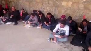 Çanakkalede 42 Suriyeli kaçak yakalandı