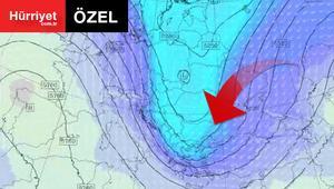 Kutupsal soğuk hava böyle geliyor İstanbul için önemli uyarı