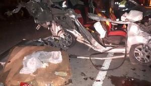 Iğdırda kaza: 1 ölü, 1 yaralı
