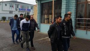 Düzcede uyuşturucu ticaretinden 5 Afgana gözaltı