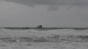 Bartın açığında sürüklenen gemideki mürettebat, helikopterle kurtarıldı/ Ek fotoğraflar