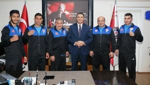 Iğdır Polis Gücü sporcuları şampiyonaya hazır