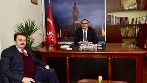 Başkan Erkoçtan, MHPye ziyaret