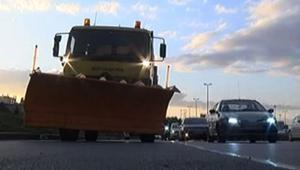 İstanbullular dikkat Kar küreme araçları ana yollara indi