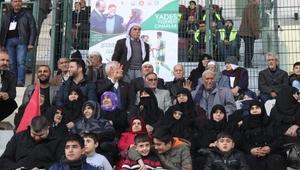 YADES üyeleri, Şanlıurfaspor maçını izledi