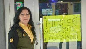 Bilecikli kadın işletmeci ölü ya da diri müşteri arıyor
