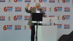 Başbakan Yıldırım: 350 bin Kürt kardeşimiz Türkiyeye sığındı (2)
