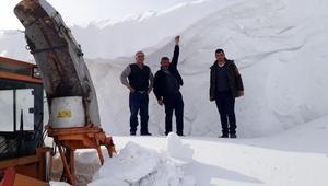 Ardahanda kardan kapanan köy yolları açılıyor