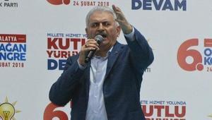Başbakan Yıldırım: Mehmetlerimiz, Afrinde destan yazıyor (2)