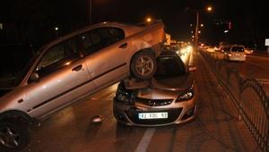 Konyadaki 3 kazada, 4 kişi yaralandı