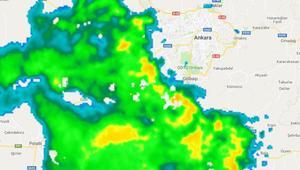 Meteoroloji uyardı... Ankaralılar dikkat Batıdan geliyor