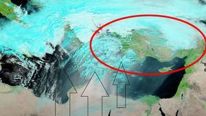 Meteoroloji uyarmıştı... NASA uydusu Türkiyeyi böyle gördü