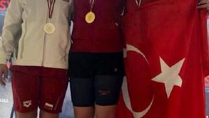 Multinations Gençler Yüzme Şampiyonasında milliler 9 madalya kazandı