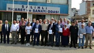 Afrindeki Mehmetçiğe kuru üzüm ve leblebili desteğe teşekkür belgesi