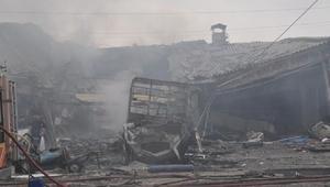 Iğdırda sanayi sitesinde patlama: 1 ölü, 16 yaralı