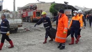 Iğdırdaki patlamada ölen oto tamircisi toprağa verildi