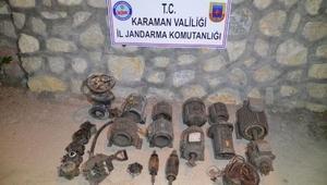 Maden ocağından dinamo çalan 4 kişi yakalandı