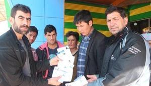 Afgan göçmenleri İstanbul diye Şanlıurfaya bıraktılar