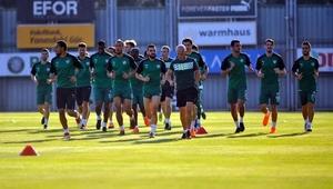 Bursaspor, Konyaspor maçının hazırlıklarına eksik başladı