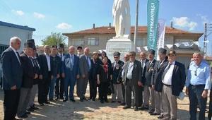 Tekirdağda 7nci Atatürk Heykeli, Osmanlı Mahallesi'nde açıldı