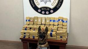 Bitliste TIRın dorsesinde 73 kilo eroin ele geçirildi