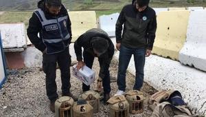 Kaçak avcılar 7 kınalı keklik ile yakalandı