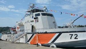 TCSG-72 botu halkın ziyaretine açıldı