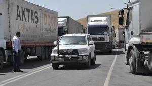 BMden Suriye'ye 25 TIR yardım