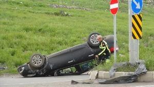 Karsta kaza: 2 yaralı