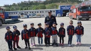 Bozüyük Belediyesinden 900 öğrenciye yangın eğitimi