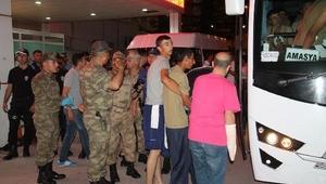 Amasya'da 81 asker ilaçlamadan zehirlendi (2)